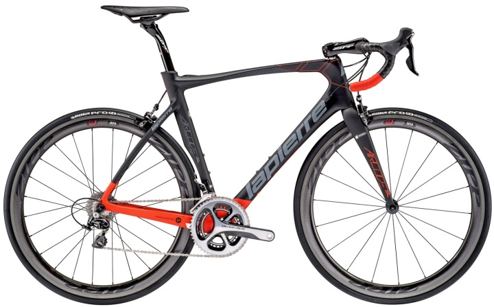 2016 Lapierre Aircode Red SL dura ace grey
