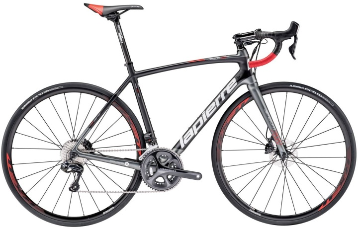 2016 Lapierre Sensium 700 disc grey red ultegra