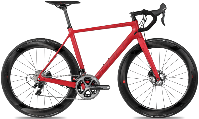 2016 Norco Tactic SL disc red dura ace