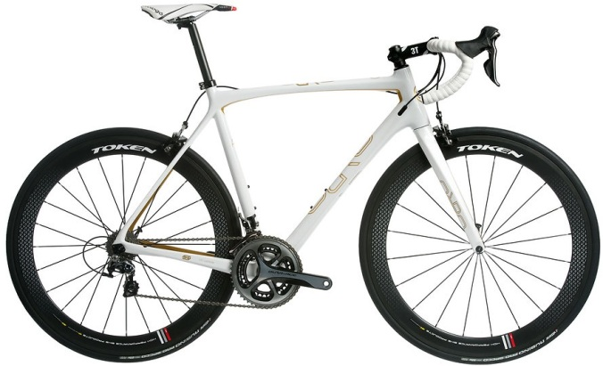 2016 Orro Gold Signature Edition white dura ace