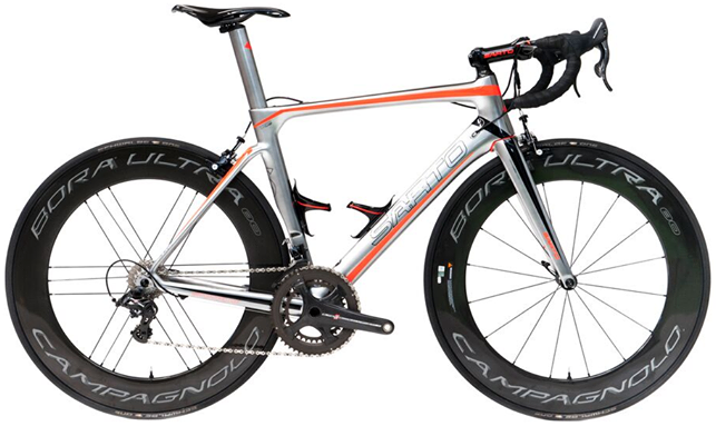 2016 Sarto Lampo orange campy super record