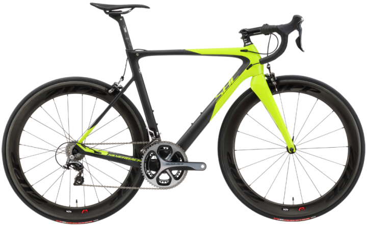 2016 Silverback Super Bike Concept R 2.0 lime dura ace