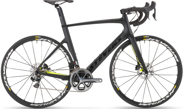 2016 Stevens arcalis_disc_custom_ dura ace yellow black