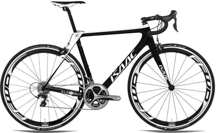 isaac-element-2016- dura ace black white