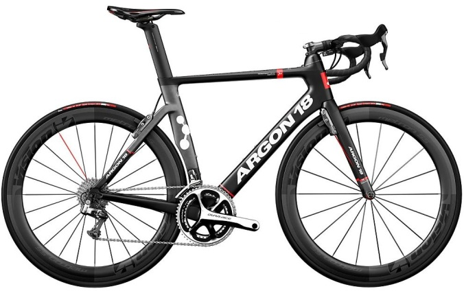 2016 Argon 18 Nitrogen Pro red black dura ace 2