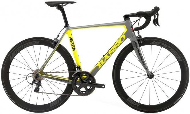 2016 Basso Astra grey yellow ultegra