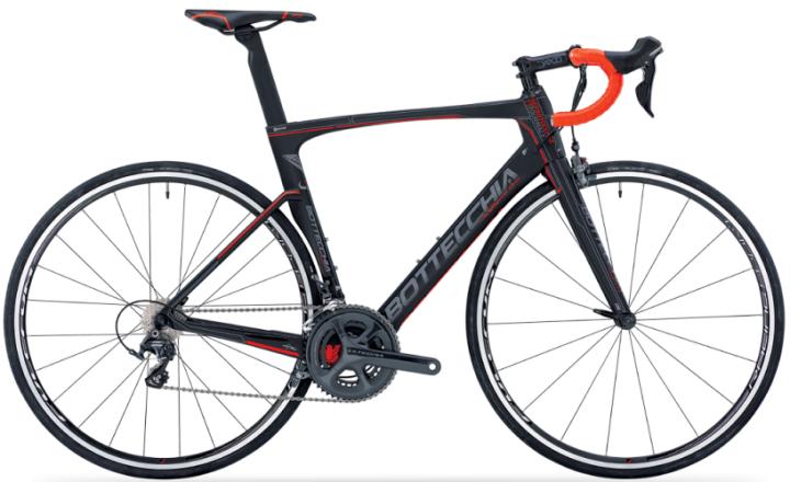 2016 Bottecchia T1 Tourmalet orange black ultegra