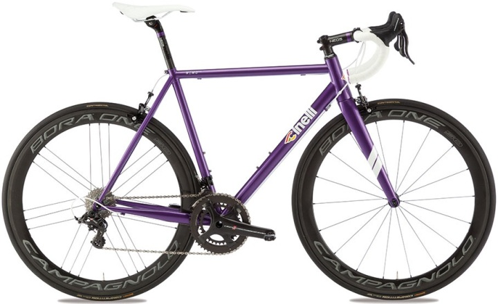 2016 Cinelli Nemo Tig purple campy steel