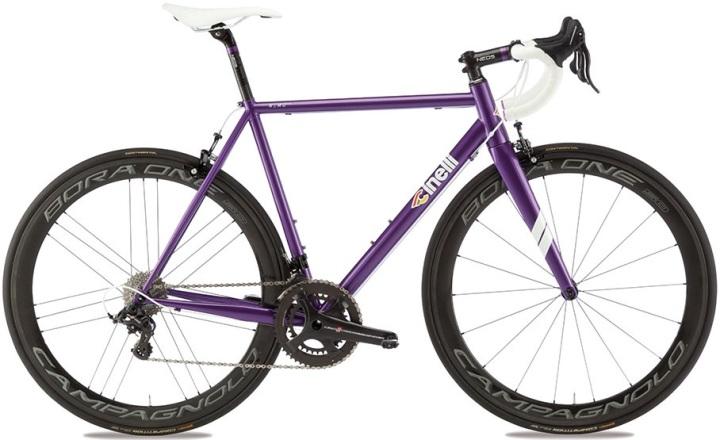 2016 Cinelli Nemo Tig purple campy steel