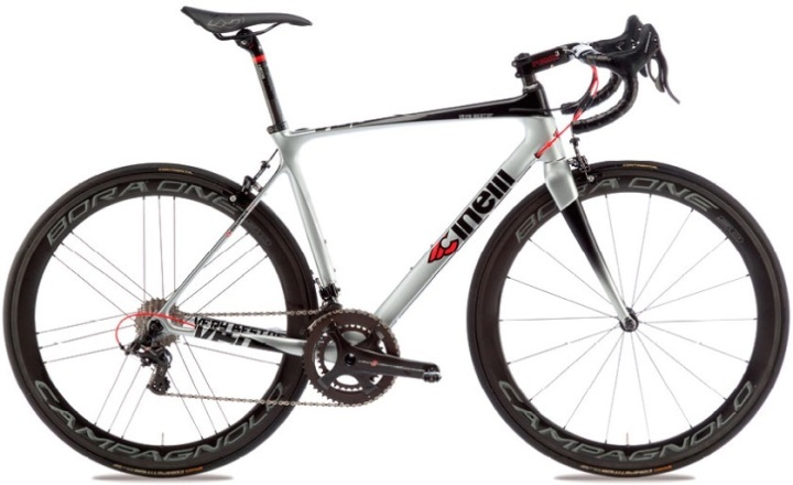2016 Cinelli Very best of silver black campy super record