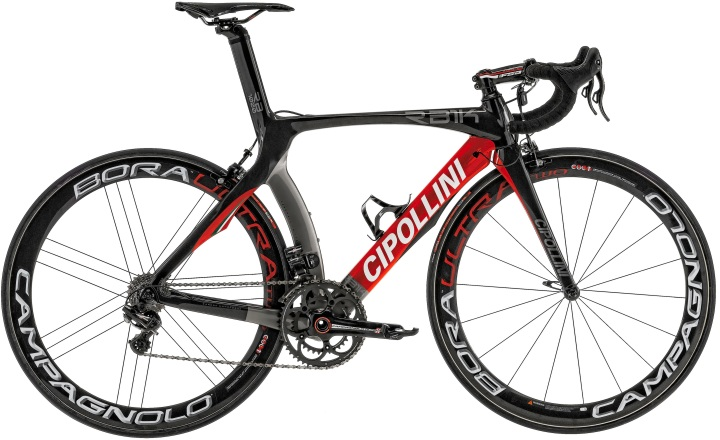 2016 Cipollini RB1K red black campy super record