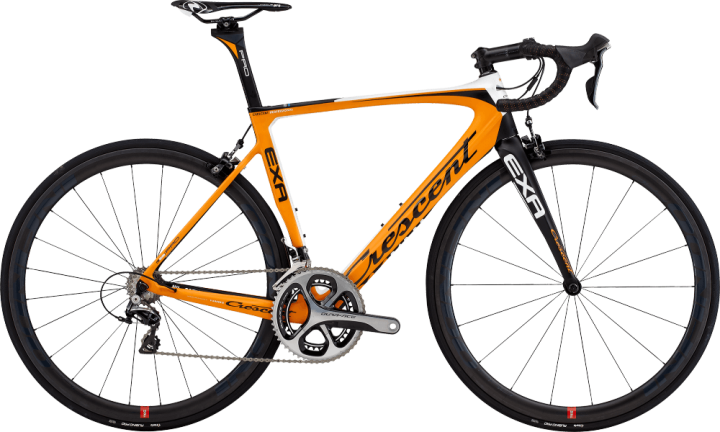 2016 Crescent Exa orange dura ace