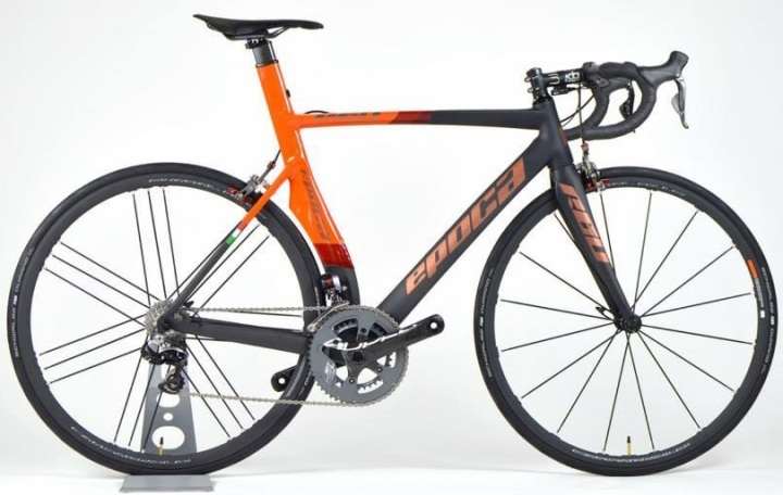 2016 Epoca R60 orange red sram