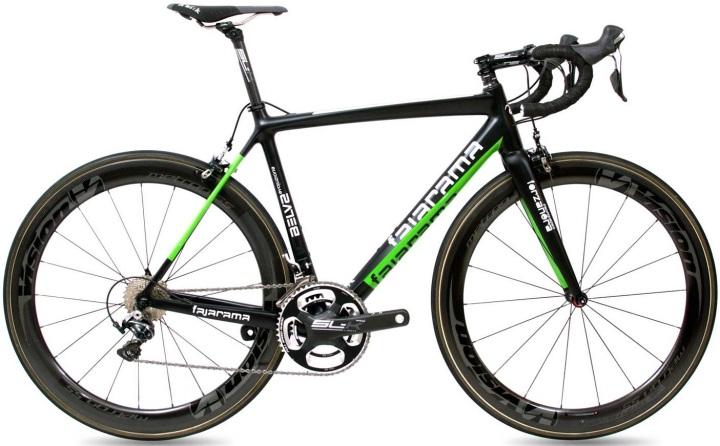 2016 Fajarama Belva Evoluzione green black white