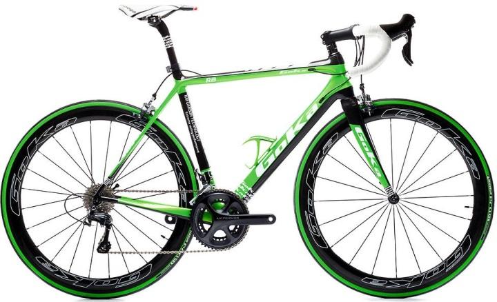 2016 Goka R8 lime green ultegra