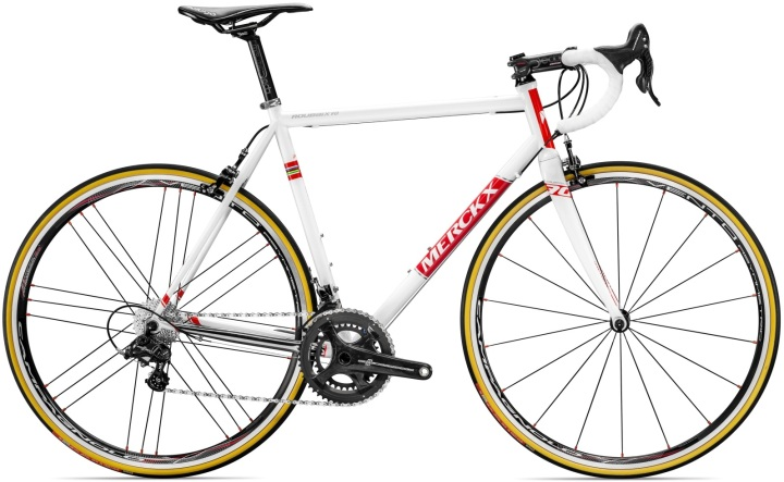 2016 Merckx Roubaix 70 steel white campy