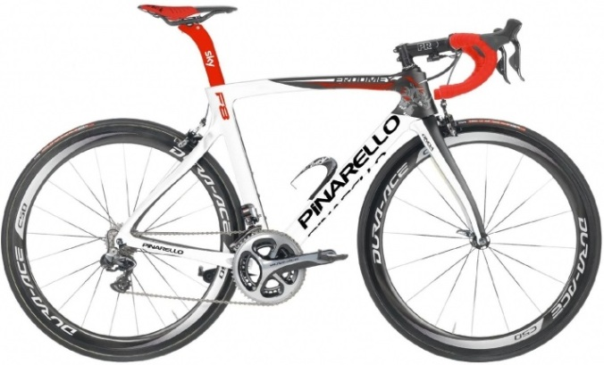 2016 Pinarello Dogma F8 dura ace white red black