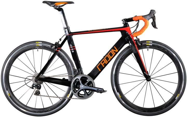 2016 Radon Vaillant orange dura ace