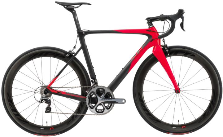 2016 Silverback Super Bike Concept R 2.0 red dura ace