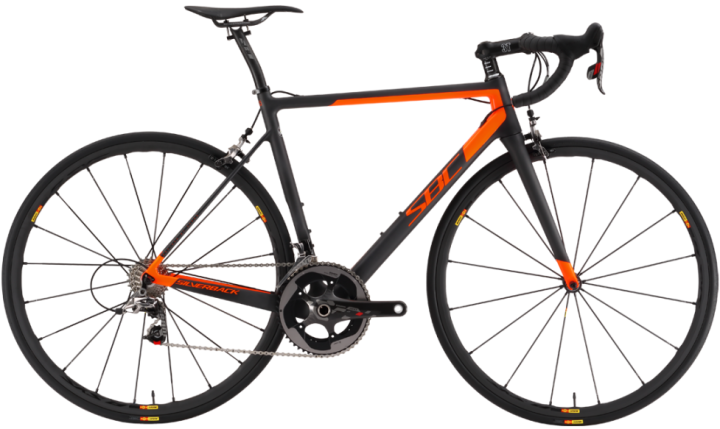 2016 Silverback Super Bike Concept R1.0 orange sram red
