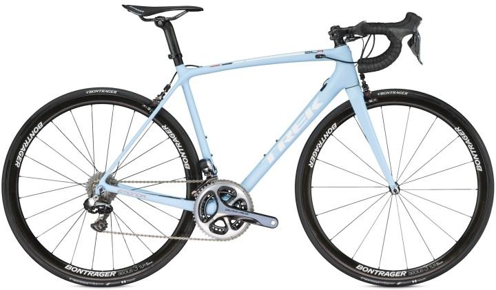 2016 TREK ÉMONDA SLR 9 H2 light blue dura ace