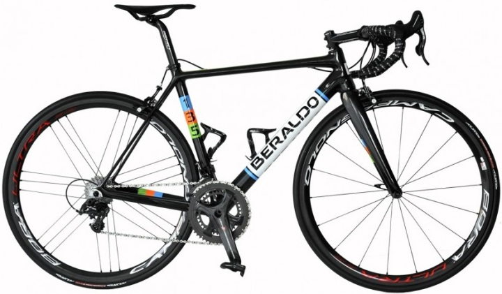 2016 Beraldo 135 campy super record black light blue green orange