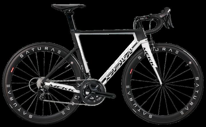 2016 Mekk Primo 6.2 ultegra aero white black
