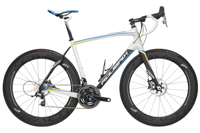 2016 Specialized Power Twins Roubaix light blue srams red disc