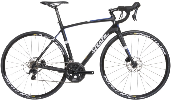 2016 Atala Professionisti shimano 105 disc blue black white