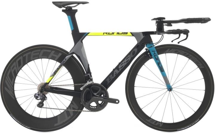 2016 Basso Konos tt yellow blue ultegra