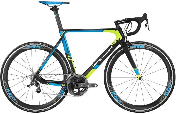 2016 Bergamont Prime RS lime light blue sram force