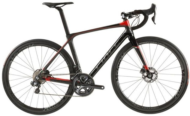 2016 Ciocc Devilry Race disc red black ultegra