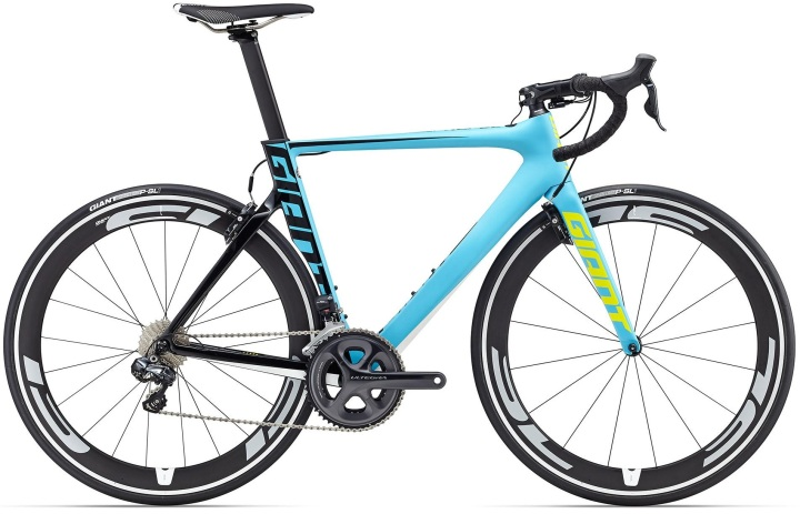 2016 Giant Propel-Advanced-0- ultegra lime green light blue