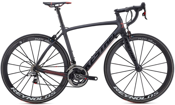 2016 Kestrel Legend Ltd black red sram