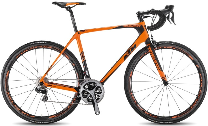 2016 KTM revelator prestige dura ace di2 orange black