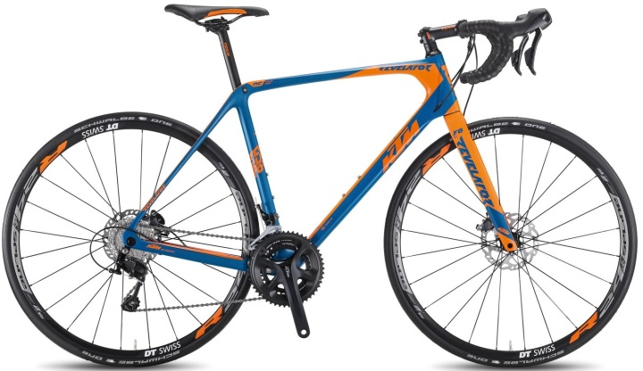 2016 KTM Revelator Sky blue orange disc shimano 105