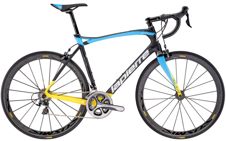 2016 Lapierre Pulsium Ultimate Yellow dura ace light blue