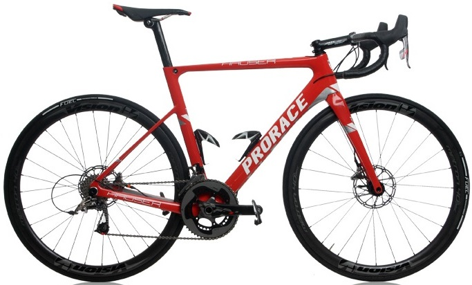2016 Prorace Hauser red sram disc