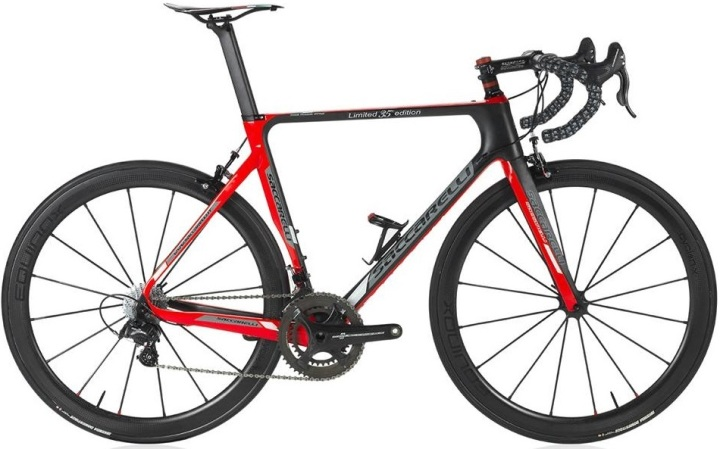2016 Saccarelli 35th Anniversary Edition campy red black