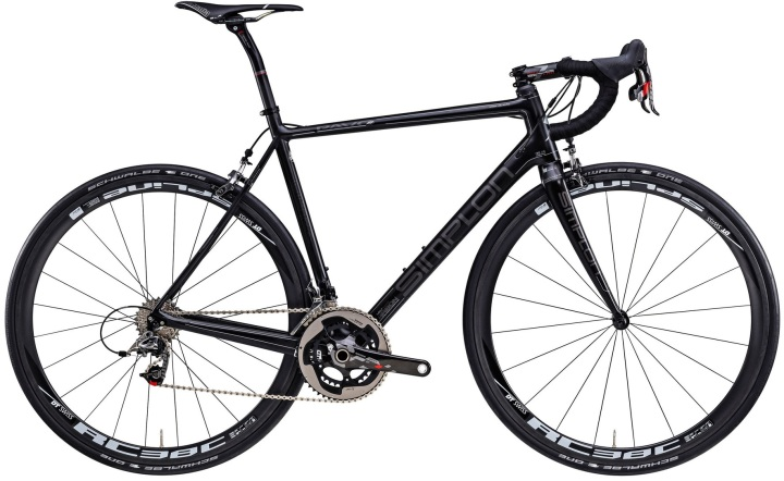 2016 Simplon Pavo 3 Ultra black sram red
