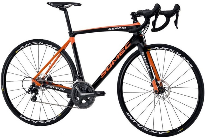 2016 Somec Genesi disc orange black ultegra