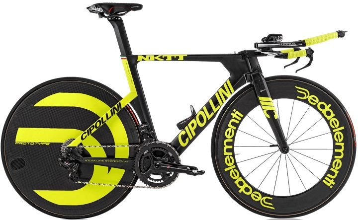 2016 Cipollini NKTT tt campy super record black yellow