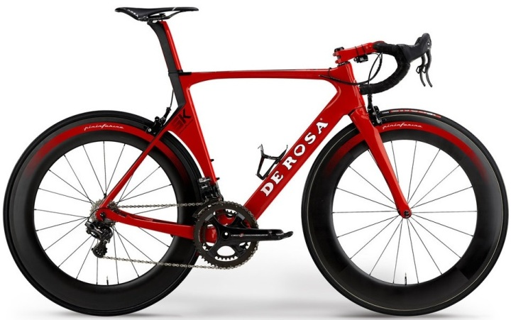 2016 De Rosa SK red Campy super record