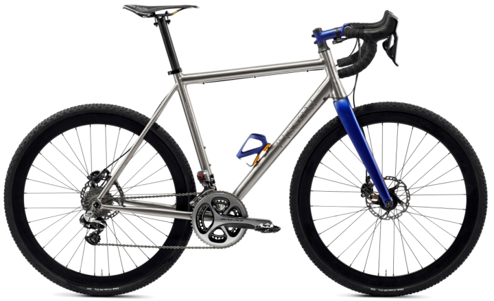 2016 Passoni Ciclopatro cx disc blue dura ace ti