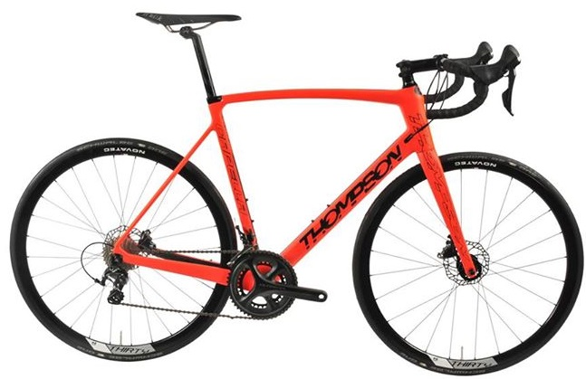 2016 Thompson Capella disc orange ultegra