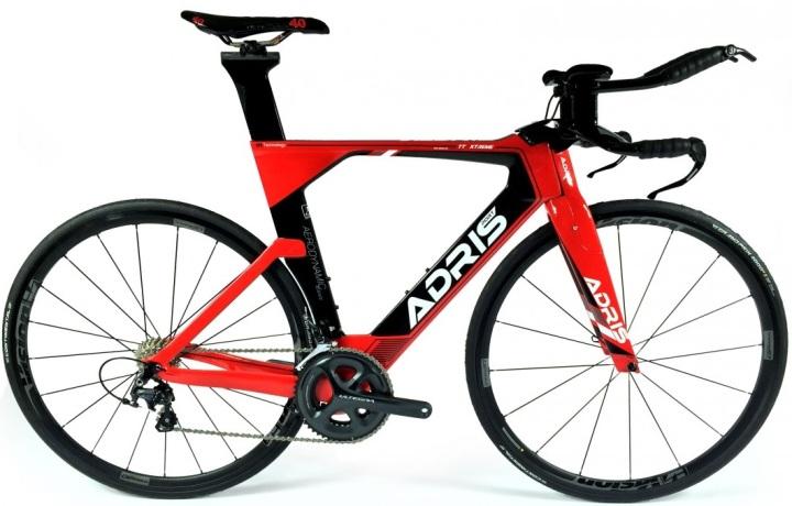 2016 Adrisport tt-xtreme-v1 red black ultegra tt