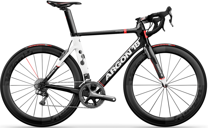 2016 Argon 18 Nitrogen ultegra red white black