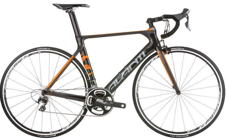 2016 Avanti Corsa DR2 orange