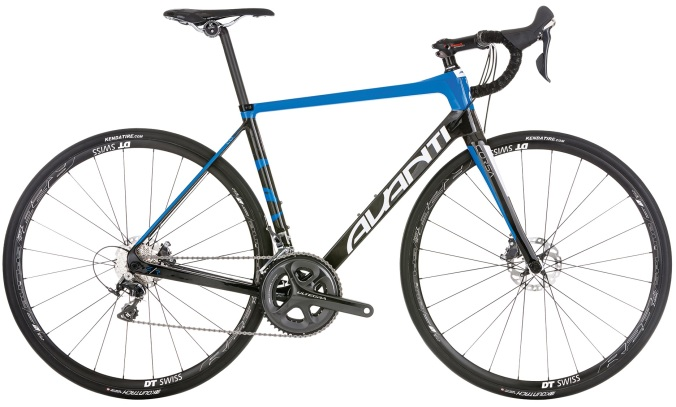 2016 Avanti Corsa ER 2 blue ultegra disc