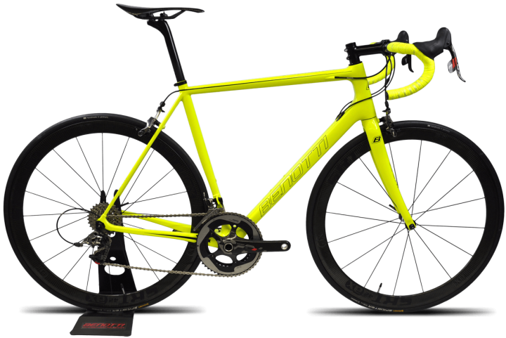 2016 Benotti Fuoco SL lime yellow sram red